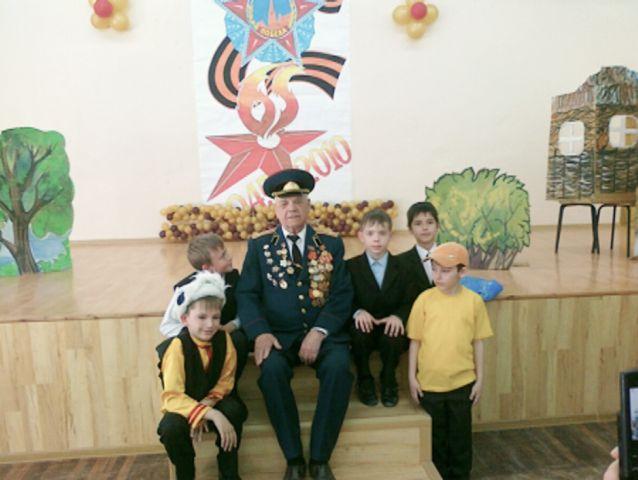 Кособоков Андрей, У нас в школе прошло мероприятие, посвященное Дню Победы