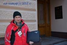Собственные корреспонденты прибывают на пресс-конференцию Президента России